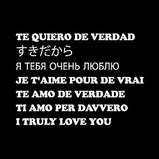 Te quiero de verdad