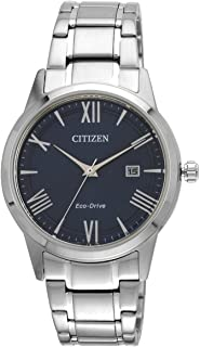 Citizen Mens Eco-Drive Stainless Steel Watch AW1231-58L