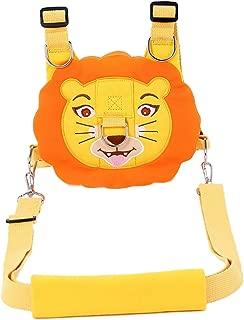 Prettyia New Baby Cartoon Breathable Vest Harness Toddler Anti-Lost Belt Safety Kids - Orange Lion, 24x17cm