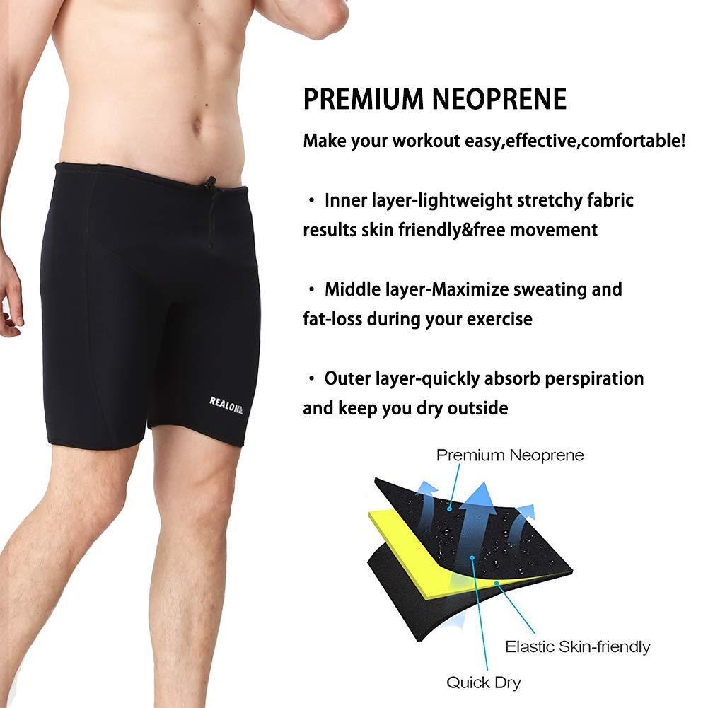 Made to measure 3 mm neoprene mens swim trunks