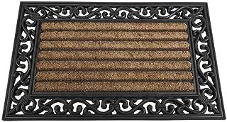 Siena Garden 548188 Impalla - Felpudo de goma con fibra de coco (45 x 75 cm)