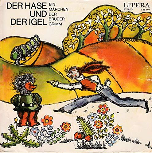 Der Hase und der Igel / Ein Märchen der Brüder Grimm / 1973 / Bildhülle mit Original Kunststoff Innenhülle / Litera 5 65 107 / 565107 / 7 Zoll Vinyl Single Schallplatte SP / Deutsche Pressung /