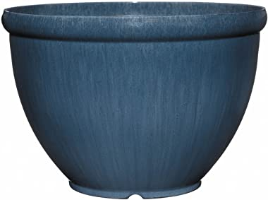 "Classic Home and Garden 52-136R Bellina 12"" Planter, Ocean"
