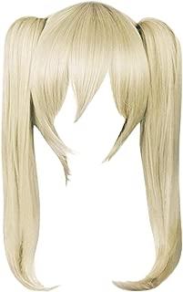 DAZCOS Maka Albarn Flaxen Light Brown Cosplay Wig (Flaxen)