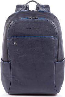 Blue Square Business Mochila piel 39 cm compartimento portátil