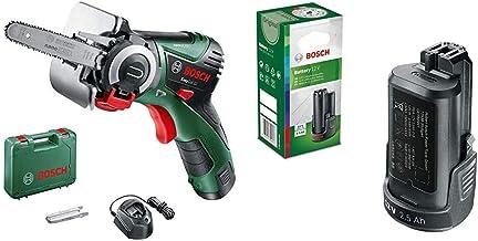 Bosch EasyCut 12 - Sierra de cadena + Bosch Batería de litio PBA 12