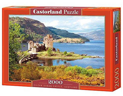 Castorland Eilean Donan Castle, Scotland 2000 pcs Puzzle - Rompecabezas (Scotland 2000 pcs, Puzzle Rompecabezas, Paisaje, Niños y Adultos, Niño/niña, 9 año(s), Interior)
