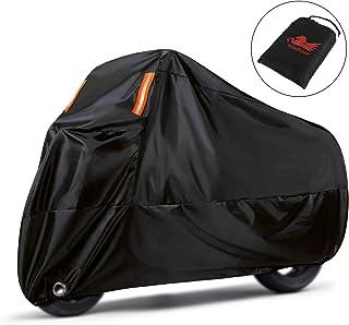 غطاء دراجة نارية من Win Power للحماية من الأشعة فوق البنفسجية ضد الغبار مقاوم للماء 210D غطاء دراجة نارية متين 116inches W...
