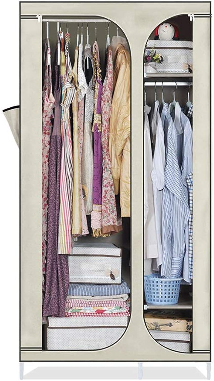 f44445d2d297 Si- Cloth Wardrobe Simple Wardrobe Combination Single Wardrobe ...
