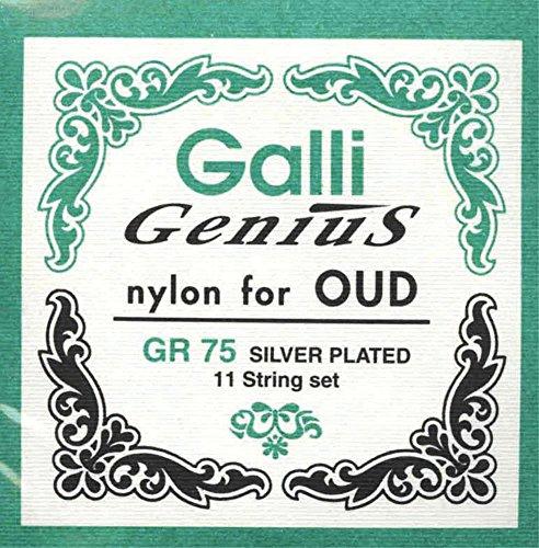CUERDAS LAUD ARABE - Galli (GR75) Nylon (Juego Completo)