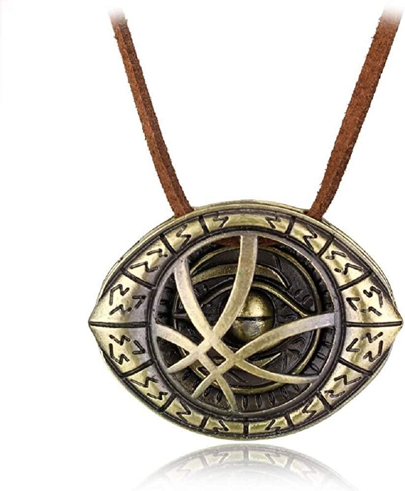 ArtkticaSupply Doctor Strange Inspired Necklace of NEW Genuine before selling -Eye Agamotto