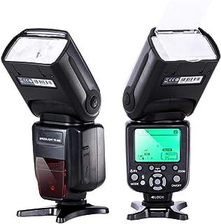 فلاش كاميرا سبيد لايت تي تي إل احترافية فلاش مع مزامنة عالية السرعة لكاميرا كانون نيكون ديجيتال اس ال ار