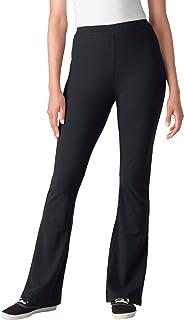 Women's Plus Size Stretch Cotton Bootcut Yoga Pant