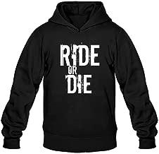 Men's Ride Or Die Horror Quotes Hoodie