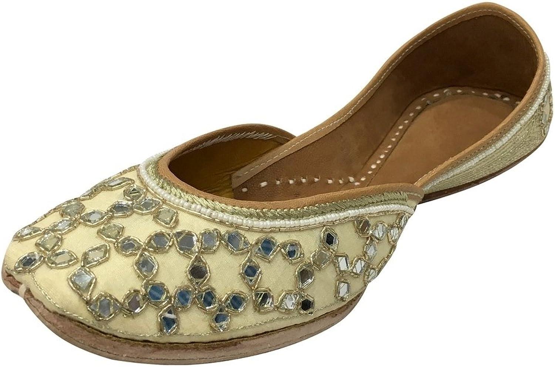Step n Style Ladies Khussa shoes Phulkari Jutti Indian Ethnic Salwar Kameez shoes