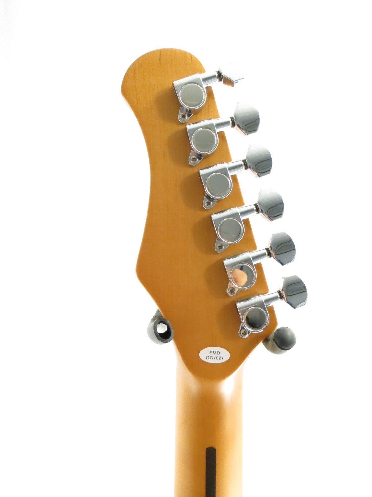EFFIN guitarras oldstart/WH Blanco deluxe para guitarra eléctrica ...