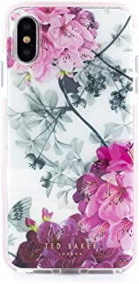 Ted Baker Fashion Anti Shock Case for iPhone X/XS, Protective Cover iPhone X/XS for Professional Women/Girls - Babylon