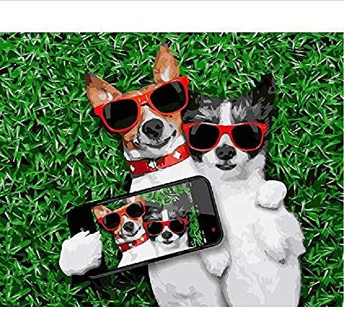 Houten puzzel speelgoed,Uniek cadeau Educatief speelgoed Stressverlichter voor volwassenen 3D Klassieke puzzel Mode Honden Maak een foto Dier DIY Educatief Puzzel Home Decor Uniek -1500_stukken