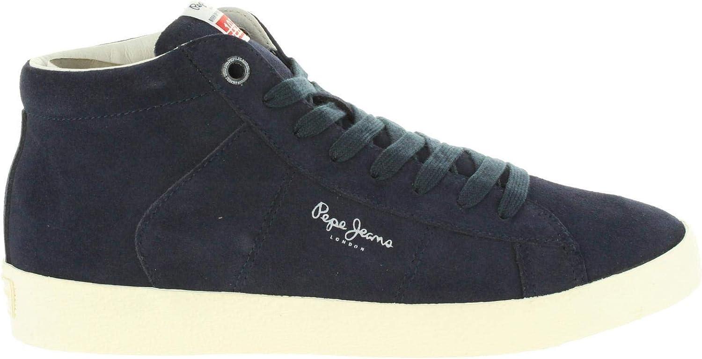 Pepe Jeans Men Mid Boots PMS30499 Portobello 595 Navy