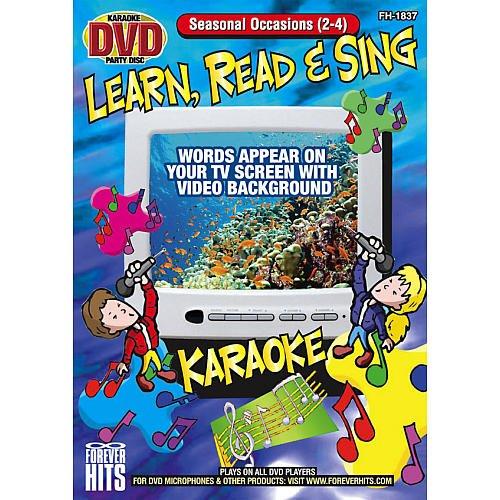 Seasonal Occasions Karaoke DVD by Emers