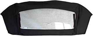 Sierra Auto Tops Convertible Soft Top Window Section Replacement, compatible with Ford Mustang 1994-2004, Sailcloth Vinyl, Black