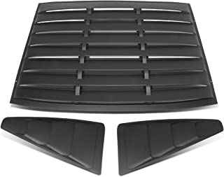 DNA MOTORING ZTL-Y-0002 Quarter Side Window Louver (05-14 Ford Mustang Coupe)