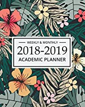 2018-2019 Academic Planner Weekly And Monthly: Teacher's Academic Lesson Planner Calendar   Schedule Organizer and Journal Notebook  8 x 10   inches, ... and Record Book 2018-2019 Series) (Volume 1)