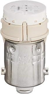 マルヤス電業 Aシリーズ照光スイッチ/パイロットライト付属LED電球、定格:AC/DC 6V、橙色(ハイブライトエコノミータイプ)、LBA9-6Y-1