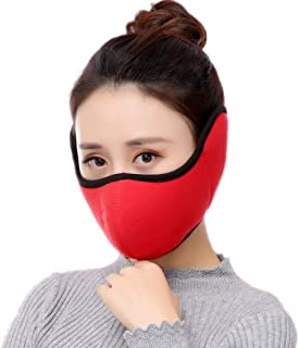 demi masque visage virus