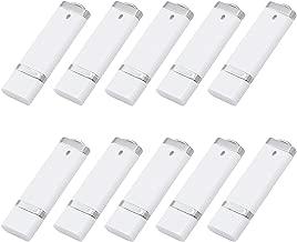 KEXIN 50PCS USB Flash Drive 4GB USB2.0 Flash Drives Pen Drive Memory Stick White (4G50PCS)