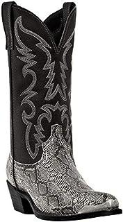 Botte Haute Bouge Hommes, Bottes Longues avec Chaussures De Marche Décontractées De Mode De Mode Antidérapante,Argent,46