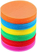 "Carpet Markers, Womdee The Original Carpet Markers Sitting Spots by Bright Spot for Teachers 4.33"" Floor Circles (36 Pack) Great for Classrooms, Teaching, Games, Learning"