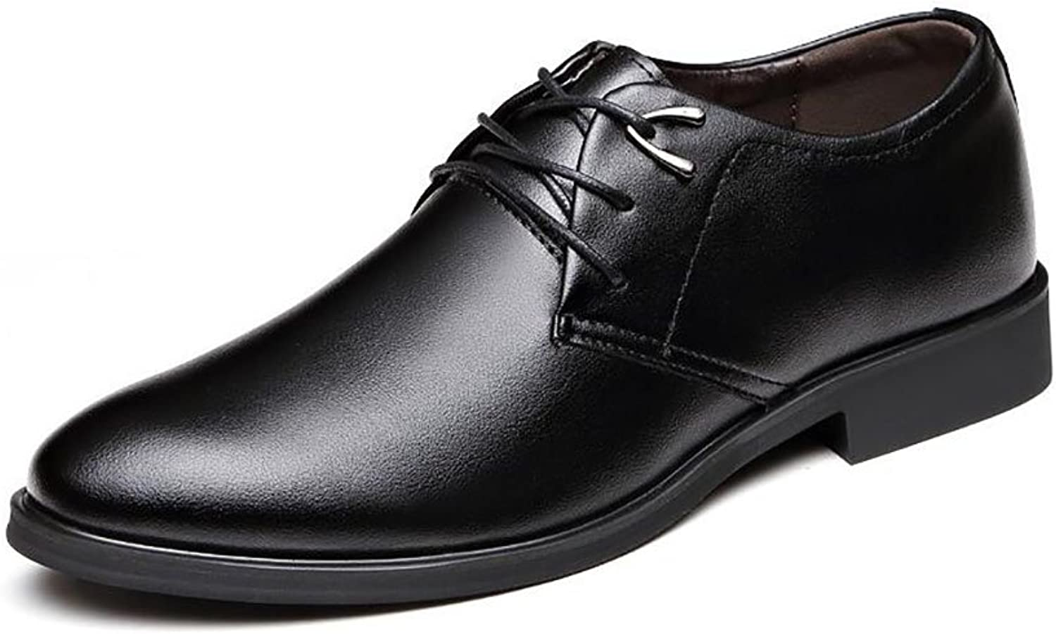 Men's shoes PU Spring Fall Comfort Oxfords Formal Business Work Comfy Moccasins Classic Lace up shoes Black Brown Men's shoes Leather