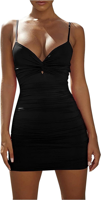 GOODTRADE8 Summer Dresses Maxi Dress Women Casual Solid Hip Skirt Slim Dresses High Waist Dress Black