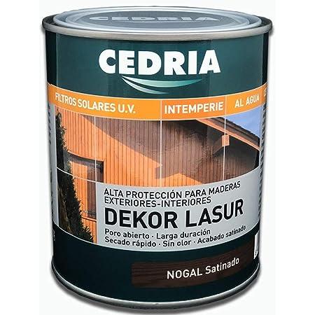Lasur protector madera exterior al agua Cedria Dekor Lasur ...