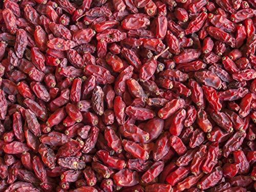 Hymor Berberitze - 1kg - getrocknete Berberitzen Sauerdorn getrocknet Trockenfrucht Trockenobst Berberitzen-Beere wild natürlich getrocknet ungeschwefelt vegan glutenfrei