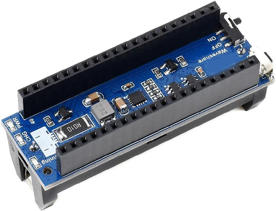 UPS Module Board Uninterruptible Power Supply Power Management Expansion Board 5VBattery Operating for Raspberry Pi Pico ups module uninterruptible power supply for raspberry pi pico expansion board