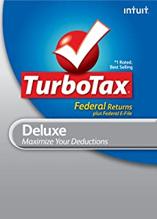 TurboTax Deluxe Federal + e-file 2010 for Mac [Download] [OLD VERSION]