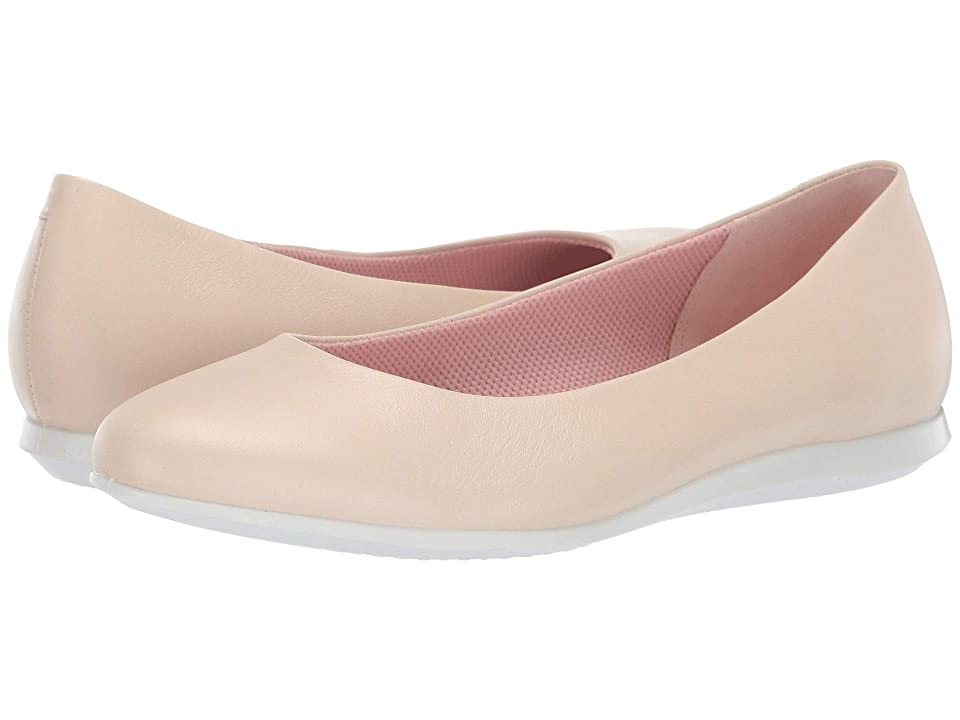 ECCO Touch Ballerina 2.0 (Vanilla Cow Leather) Women