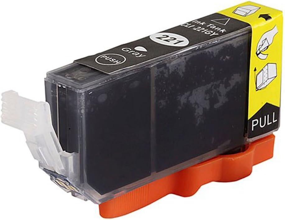 Monoprice 108877 MPI Compatible Canon CLI-221GY Inkjet, Gray
