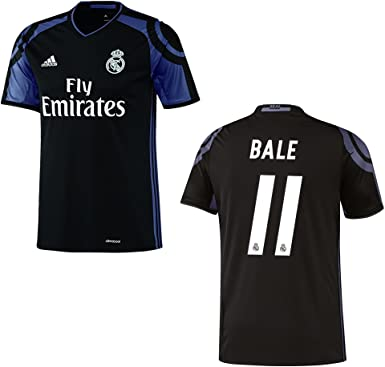 adidas Real Madrid, Terza Maglia da Uomo 2016/2017 – Bale 11, XL ...