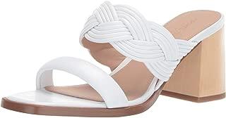 Women's Tara Peep Toe Mule Heeled Sandal