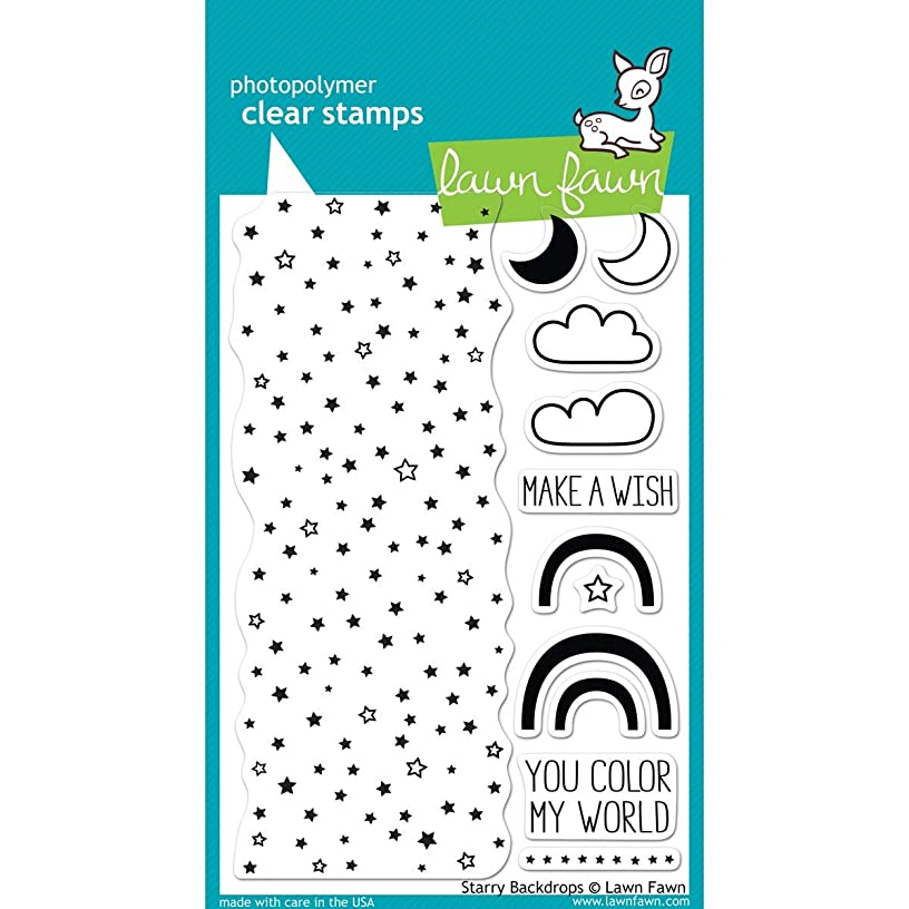 Lawn Fawn Clear Stamps - Starry Backdrops #LF664