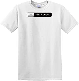 fagraphix Men's Slide to Unlock T-Shirt