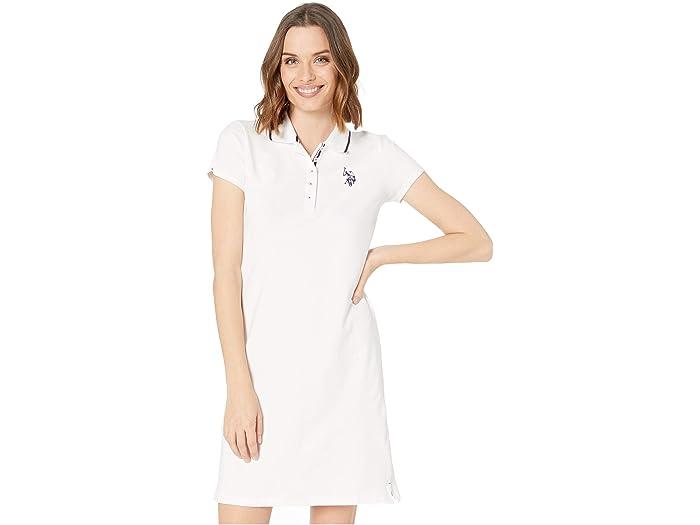 U.S. POLO ASSN. Solid Polo Dress