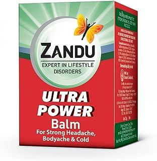 Emami Limited. Zandu POTENCIA ULTRA AYURVEDIC BALM 8 ML (