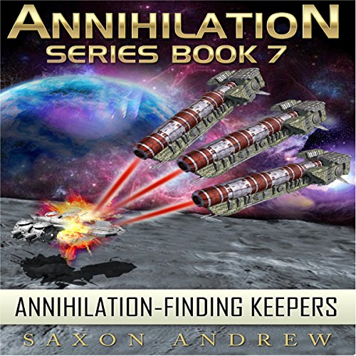 Annihilation - Finding Keepers audiobook cover art