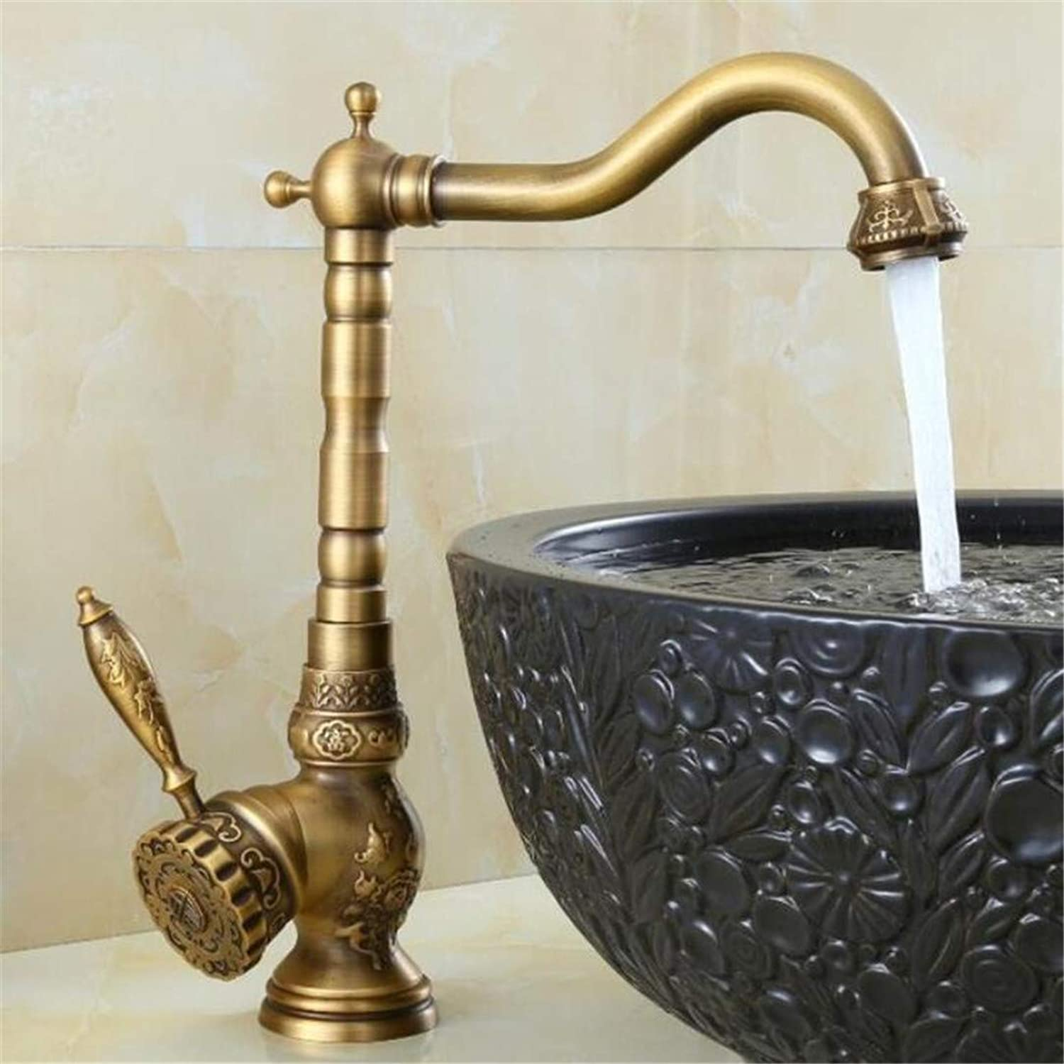 Faucet Washbasin Mixer New Arrival High Quality Antique Cold and Hot Single Lever High Bathroom Sink Faucet Basin Faucet