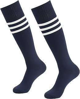 J'colour Soccer Socks, Unisex Knee High Team Sport football Uniform Socks