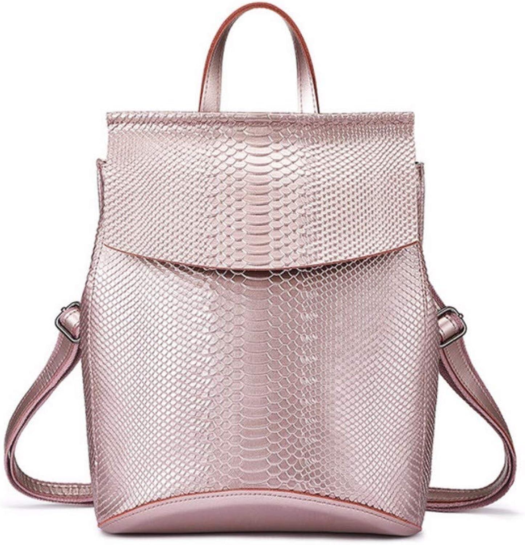 JQSM Backpack Women Travel Bag Split Leather Backpacks for School High Capacity Backpacks Fashion Multifunctional Bags Ladies